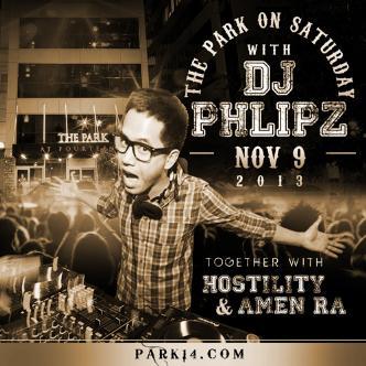 #ParkSaturdays w/ DJ PHLIPZ: Main Image