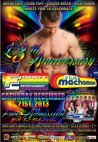 13th Anniversary Club Machoman: Main Image