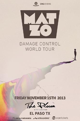 Mat Zo Damage Control tour: Main Image