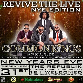NYE with COMMON KINGS: Main Image