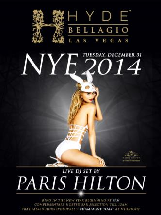 NYE 2014 at Hyde Bellagio: Main Image