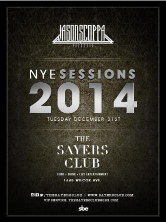NYE SeSSions 2014: Main Image