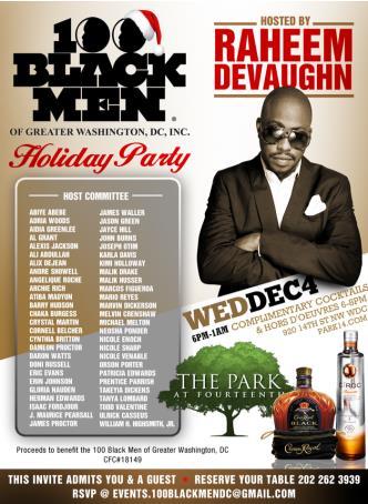 100 Black Men Holiday Party: Main Image
