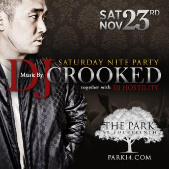 #ParkSaturdays -w/ DJ Crooked: Main Image