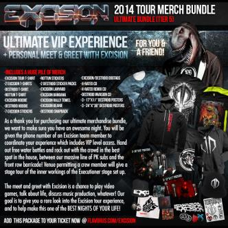 Merch Bundle + VIP Experience: Main Image