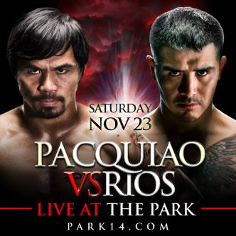 #FightNight - Pacquiao vs Rios: Main Image