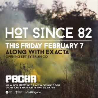 HOT SINCE 82: Main Image