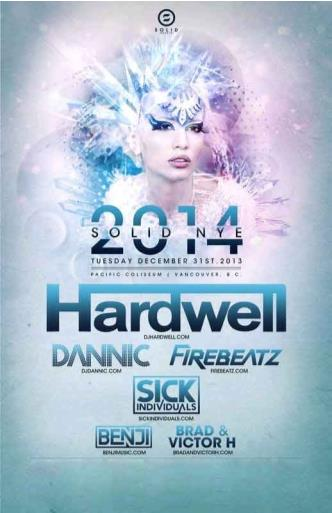 Hardwell New Years 2014: Main Image
