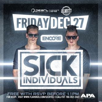 SICK INDIVIDUALS - DEC 27: Main Image