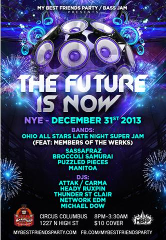 NYE 2014  FUTURE IS NOW: Main Image