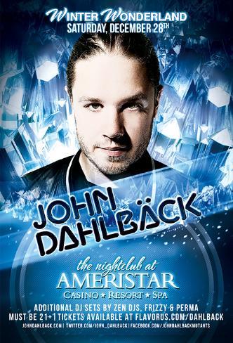 John Dahlback Ameristar 12/28: Main Image