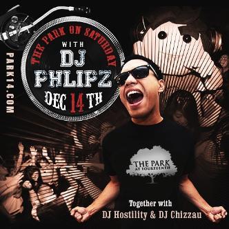 #ParkSaturdays with DJ Phlipz: Main Image