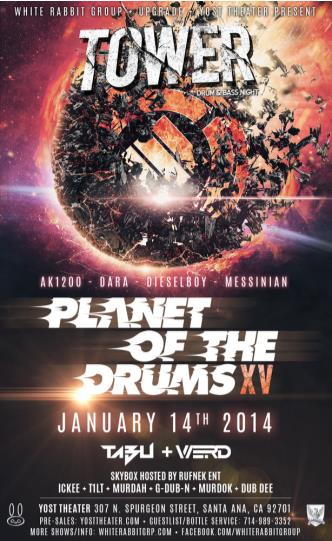 Planet of the Drums at Tower: Main Image