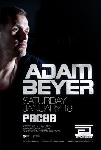 ADAM BEYER (Drumcode):