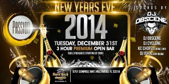 NEW YEARS EVE 2014 @ Passion: Main Image