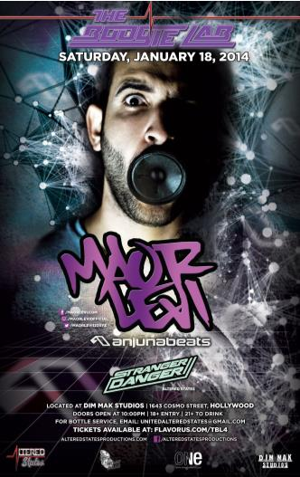 The Boogie Lab Ft: MAOR LEVI: Main Image
