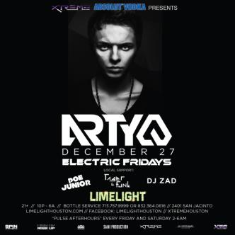 Arty | Electric Fridays: Main Image