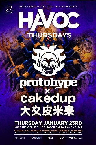 Protohype & Caked Up: Main Image