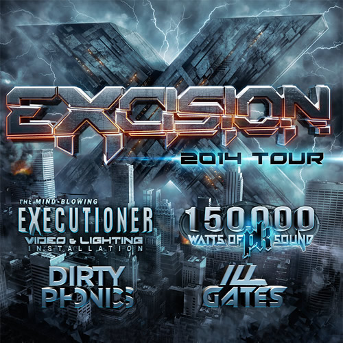 Excision tickets the club 9one9 on january 26 2014 in victoria excision main image malvernweather Image collections