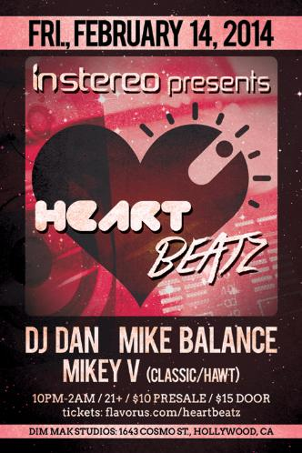InStereo presents HeartBeatz: Main Image