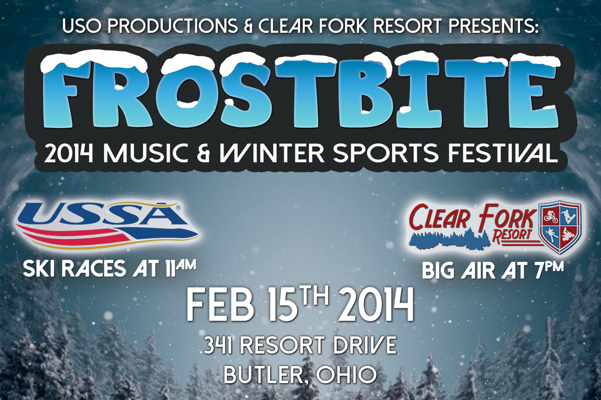 frostbite tickets - the clear fork resort on february 15 2014 in