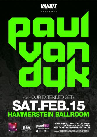 PAUL VAN DYK: Main Image