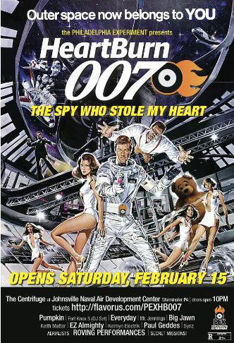 HeartBurn 007: Main Image