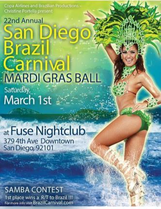 San Diego Brazil Carnival 2014: Main Image