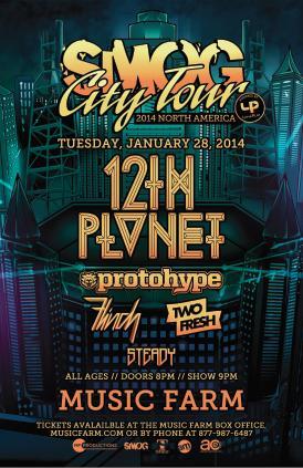 Smog City Tour ft. 12th Planet: Main Image