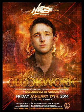 NOIZE FRIDAYS - CLOCKWORK: Main Image
