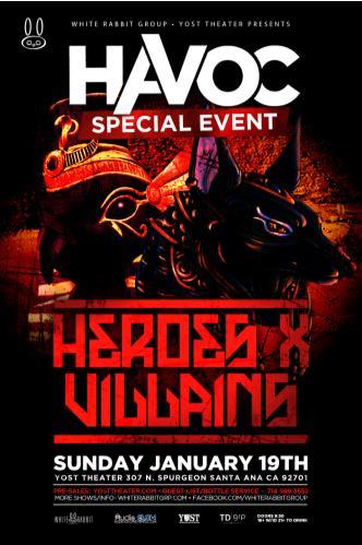 Havoc Ft. Heroes X Villains: Main Image