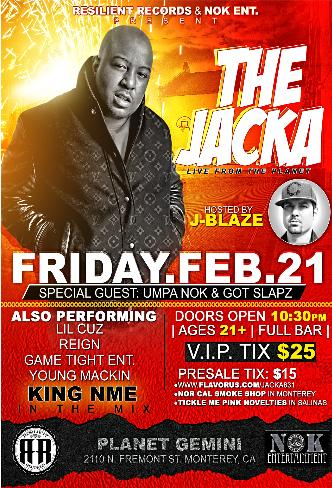 The Jacka Live in MONTEREY: