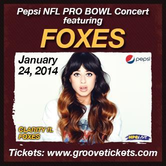 Pepsi NFL Pro Bowl Concert: Main Image
