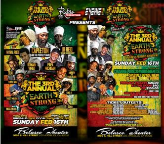 1 Love Earth Strong Fest 2014: Main Image