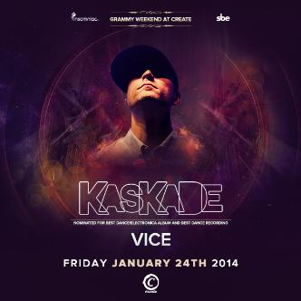 GRAMMY WEEKEND KASKADE & VICE: Main Image
