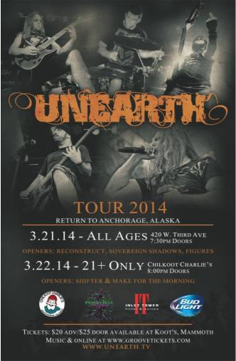 Unearth (21+): Main Image