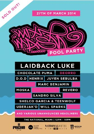 Annual Mixmash Pool Party:
