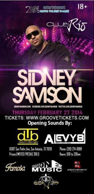 Sidney Samson LIVE: