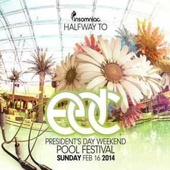 Halfway to EDC Pool Festival: Main Image