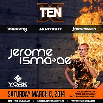 Jerome Isma-Ae - YYC: Main Image