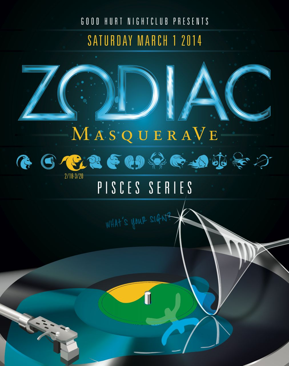 Buy Tickets to Zodiac MasqueraVe PISCES in West LA
