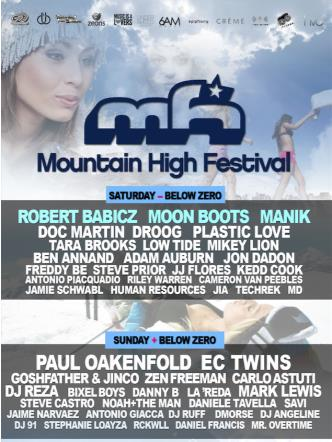 Mountain High Festival: Main Image