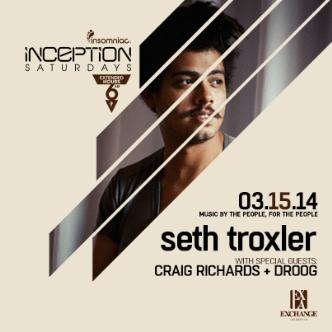 Inception ft. Seth Troxler: Main Image