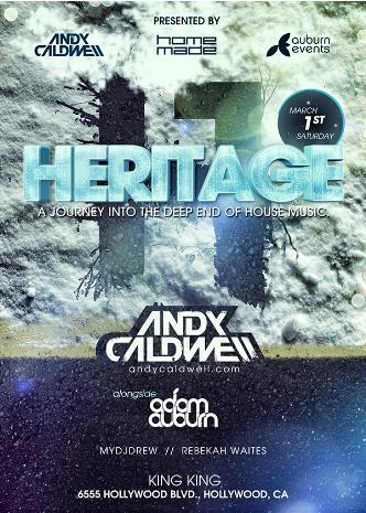 Heritage ft. Andy Caldwell: Main Image