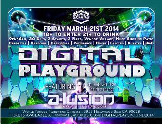 Digital Playground 2014: Main Image