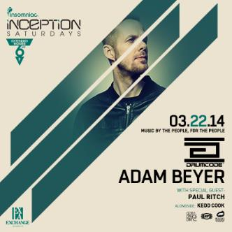 Drumcode Night ft. Adam Beyer: Main Image