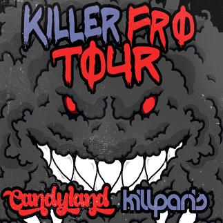 KILL PARIS + CANDYLAND  - YEG: Main Image