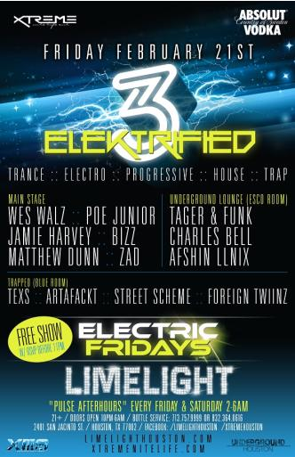 Elektrified 3| FREE |Limelight: Main Image
