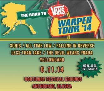 The Road To Warped Tour Alaska: Main Image