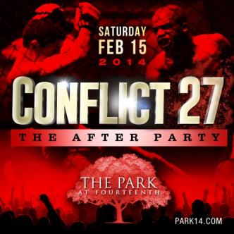 Conflict 27 After Party: Main Image